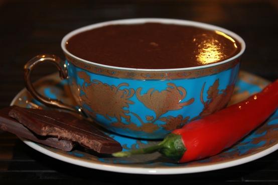 Chilli Infused Italian Hot Chocolate